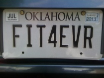 fit4evr license plate